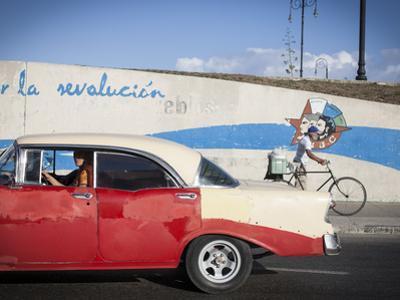 Revolutionary Slogan, Habana Vieja, Havana, Cuba