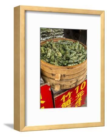 Sticky Rice in Bamboo Leaf, Qibao, Shanghai, China