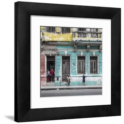 Streets of Centro Habana, Havana, Cuba