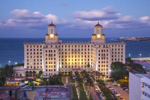 The Historic Hotel Nacional, Vedado, Havana, Cuba by Jon Arnold