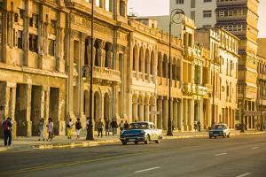The Malecon, Centro Habana, Havana, Cuba by Jon Arnold