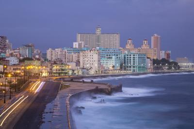 The Malecon Looking Towards Vedado, Havana, Cuba