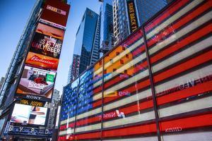 Times Square, Manhattan, New York City, New York, USA by Jon Arnold