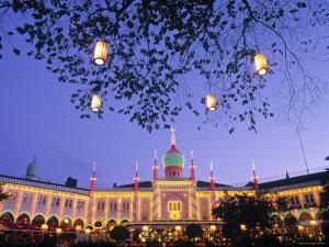 Tivoli Gardens, Copenhagen, Denmark by Jon Arnold