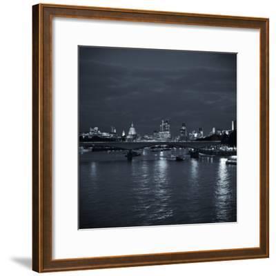 Waterloo Bridge and River Thames, London, England