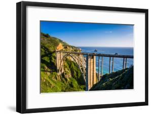 Bixby Creek Bridge, in Big Sur, California. by Jon Bilous