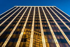 Evening Light on the Pnc Bank Building in Downtown Wilmington, Delaware. by Jon Bilous