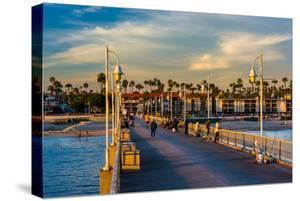 The Belmont Pier in Long Beach, California. by Jon Bilous