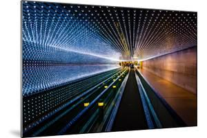 Underground Moving Walkway at the National Gallery of Art, in Washington, Dc. by Jon Bilous