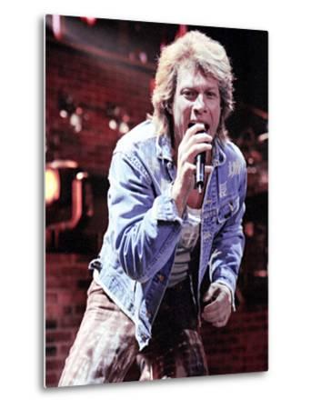 Jon Bon Jovi 12 Recent Signed Portrait Photo Poster Music Star Black White Photo