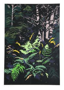 Yellow Ferns by Jon Carsman