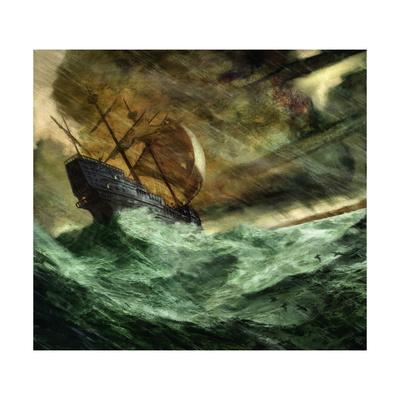 A 16th-Century Portuguese Trading Vessel Is Blown Off Course
