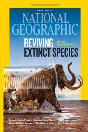 Cover of the April, 2013 National Geographic Magazine