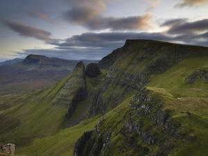 A View Southwards Along the Trotternish Peninsula from the Mountain Bioda Buidhe, Isle of Skye, Inn by Jon Gibbs