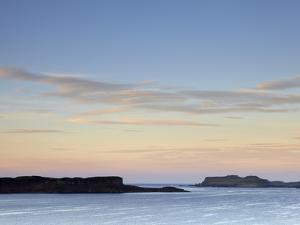 Morning Colours with a View across Loch Bracadale Showing Ardtreck Point and the Island of Oronsay, by Jon Gibbs