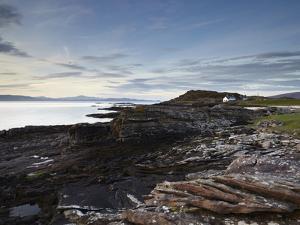 The Beautiful Coastline of the Applecross Peninsula at Ardban, Ross Shire, Scotland, United Kingdom by Jon Gibbs