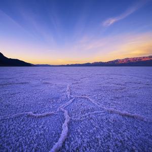 Badwater Basin at Dawn. by Jon Hicks
