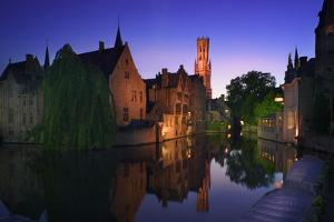 Canal at Sunset by Jon Hicks