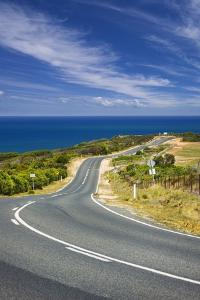 Coastal Road near Bells Beach and the Great Ocean Road by Jon Hicks