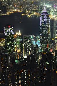 Hong Kong at Night by Jon Hicks