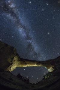 Natural Bridges National Monument at Night by Jon Hicks