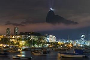 Rio De Janeiro Skyline at Dusk. by Jon Hicks