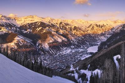 Telluride at Sunset by Jon Hicks