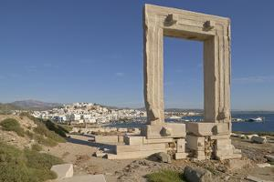 Temple of Apollo on Naxos Island in Greece by Jon Hicks