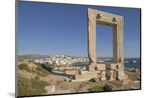 Temple of Apollo on Naxos Island in Greece by Jon Hicks