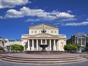 The Bolshoi Theatre by Jon Hicks