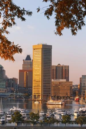 The Inner Harbor, Baltimore. by Jon Hicks