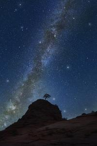 The Milky Way over Zion National Park by Jon Hicks
