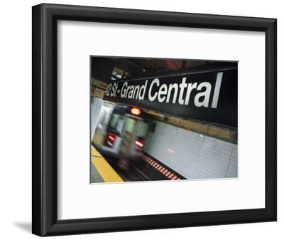 The New York City Subway.