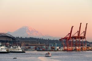 The Port of Seattle. by Jon Hicks