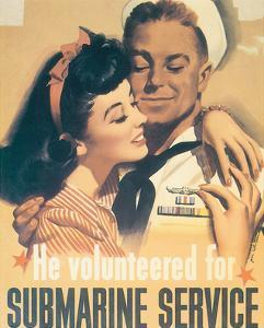 He Volunteered For Submarine Service by Jon Whitcomb