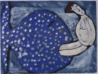 Jonah and the Whale-Leslie Xuereb-Giclee Print