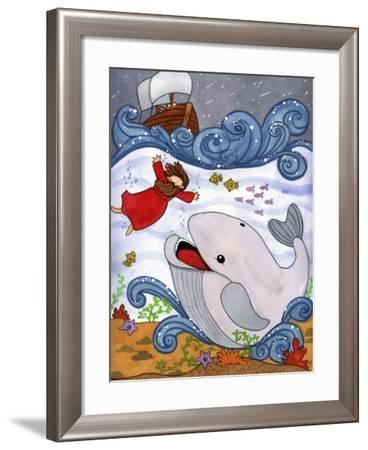 Jonah and the Whale-Jennifer Nilsson-Framed Giclee Print