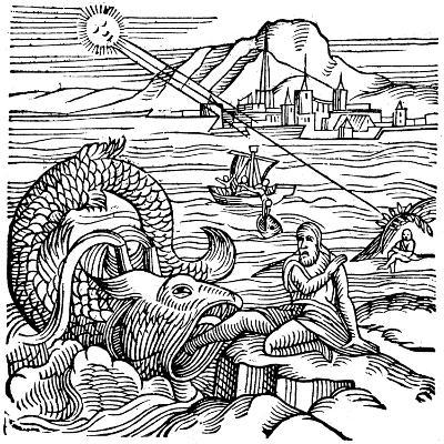 Jonah Being Spewed Up by the Whale, 1557--Giclee Print