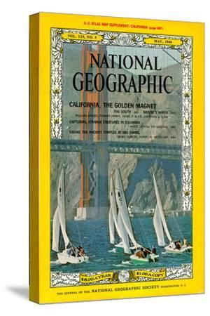 Cover of the May, 1966 National Geographic Magazine