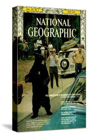 Cover of the May, 1972 National Geographic Magazine