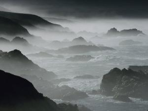 Surf Pounding the Shore of Big Sur by Jonathan Blair