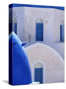 Windows and Arches of a Whitewashed Church by Jonathan Hicks