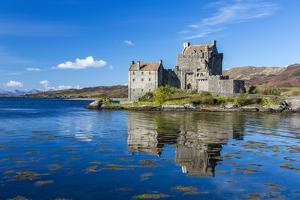 Eilean Donan Castle on a Small Tidal Island in the Western Highlands of Scotland by Jonathan Irish