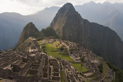 Machu Picchu, the Lost City of the Incas, and Huayna Picchu Peak by Jonathan Irish