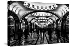 Moscow Metro, Russia by Jonathan Irish