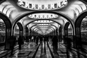Moscow Metro, Russia by Jonathan Irish