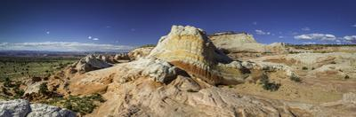 Panoramic View of Sandstone Formations in Grand Staircase Escalante National Monument by Jonathan Irish