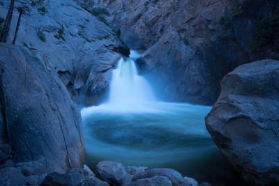 Roaring River Falls near Zumwalt Meadow in Kings Canyon National Park. by Jonathan Irish