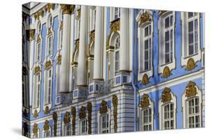 The Facade of the Ornate and Beautiful Catherine Palace, Summer Residence of the Russian Tsars by Jonathan Irish