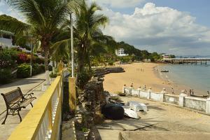 The Beautiful Beach of Taboga Island by Jonathan Kingston